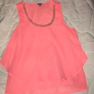 Bright Pink Blouse.